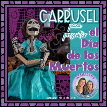 Día de los Muertos - Day of the Dead - A Carousel Activity to Introduce DdLM