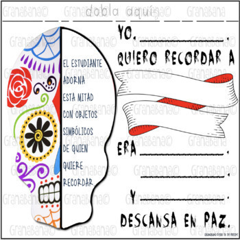 Día de los Muertos - Day of the Dead - A Novice Level Banner to Introduce DdLM