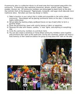 Dia de los Muertos - Day of the Dead Activities