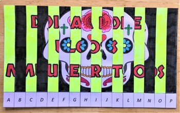 Dia de los Muertos - Day of the Dead Agamograph Art Activity