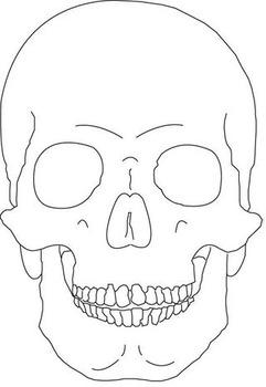 Dia de los Muertos/Day of the Dead-Black Line Masters