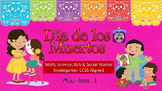 Dia de los Muertos (Day of the Dead) Book 3 CCSS ELA, Math, SS, Science SPED