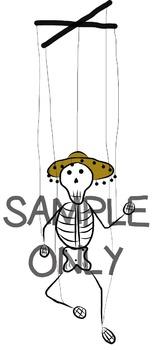Dia de los Muertos / Day of the Dead Clip Art