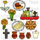 Dia de los Muertos/Day of the Dead Clip Art