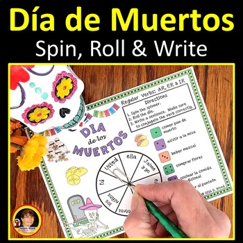 Spanish Dia de Muertos (Day of the Dead) FREEBIE Verb Conjugation Boards