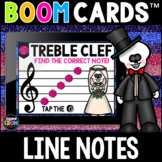 Día de los Muertos, Day of the Dead, Line Notes Boom Cards