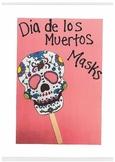Dia de los Muertos (Day of the Dead) Skull Masks
