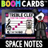 Día de los Muertos, Day of the Dead Space Notes Boom Cards