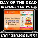Dia de los Muertos - Day of the Dead Spanish class Para Em