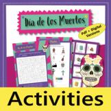 Día de los Muertos (Day of the Dead): Wordsearch + Sugar S