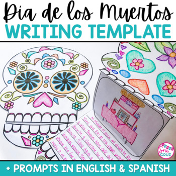 Día de los Muertos / Day of the Dead Writing Template by Sra Cruz