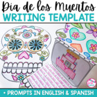 Día de los Muertos / Day of the Dead Writing Template