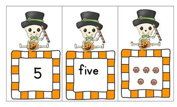 Dia de los Muertos - Four Literacy and Math Games for PreK and Kinder