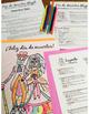 Día de los Muertos Glyph - Read and Color - Beginning / Novice Level