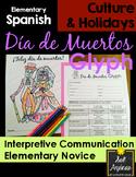 Día de los Muertos Glyph - Read and Color - Elementary Nov