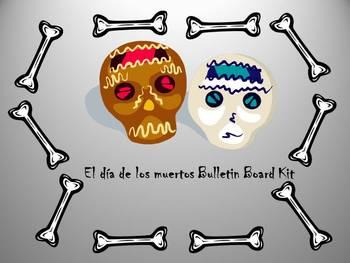 Dia de los Muertos Interactive Bulletin Board Kit