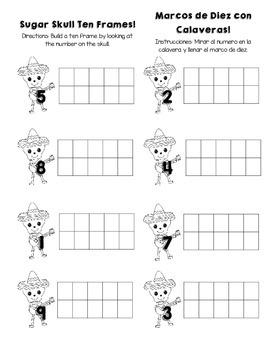 Dia de los Muertos Math Mini Pack