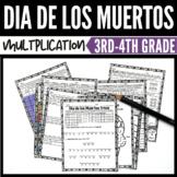 Dia de los Muertos Math Multiplication