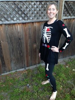 Dia de los Muertos Outfit {Silhouette Cut File}