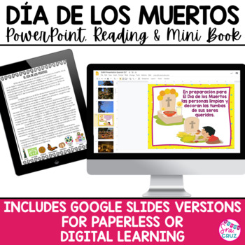 Día de los Muertos PowerPoint and Mini Book / Day of the Dead