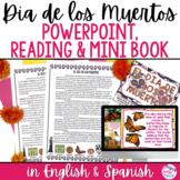 El Día de los Muertos PowerPoint and Mini Book Day of the Dead Activity DIGITAL