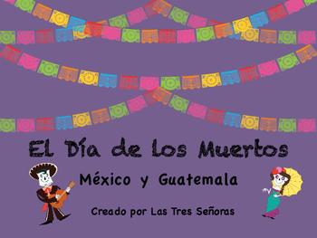 Día de los Muertos PowerPoint in Spanish (47 slides)