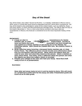 Dia de los Muertos Project