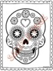 Día de los Muertos - SPANISH Day of the Dead reading/worksheets/crafts