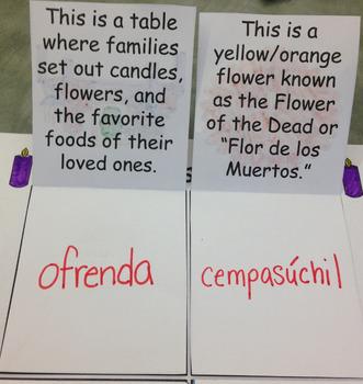 Día de los Muertos- Simple Flap Notebook Page