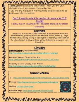 Webquest- Día de los Muertos (Smithsonian Latino Center)