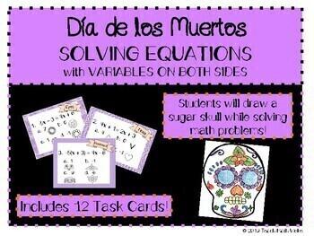 Dia de los Muertos - Solving Equations