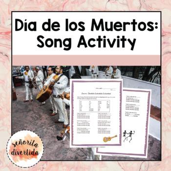 Día de los Muertos Song Activity