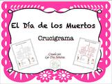 Día de los Muertos Spanish Crossword Puzzle Crucigrama