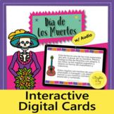 Día de los Muertos: Spanish interactive reading (Boom Card