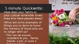Dia de los Muertos Standalone Introductory Powerpoint