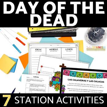 Día de los Muertos- Stations for exploring Day of the Dead!