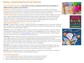 Dia de los Muertos: Visual Arts, History and Culture