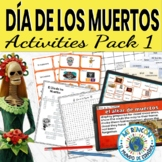 Dia de los Muertos (Day of the Dead) Vocabulary Activities