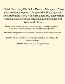Webquest- El Día de los Muertos