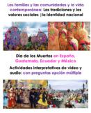 Día de los Muertos en España, Guatemala, Ecuador y México| Listening Activity