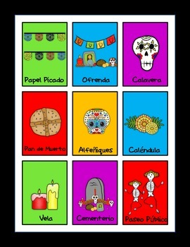 Dia de los Muertos/Day of the Dead Activity Pack