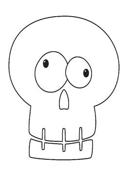 Dia de los Muertos/Day of the Dead Coloring Page