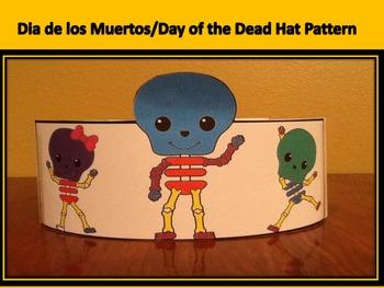 Dia de los Muertos/Day of the Dead Hat Pattern
