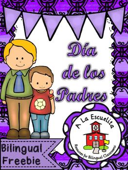 Dia de los Padres Bilingual Freebie