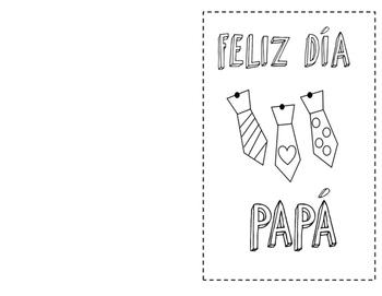 Dia de los Padres Tarjeta