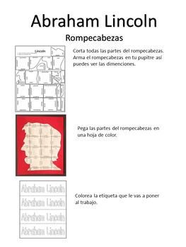 Dia de los Presidentes Puzzles, Rompecabezas