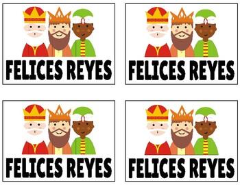 Día de los Reyes Magos Printable Cards Freebie