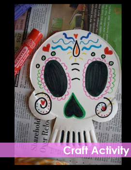 Dia de los muertos  - 2 Hour Lesson - Beginning Spanish Middle & High School