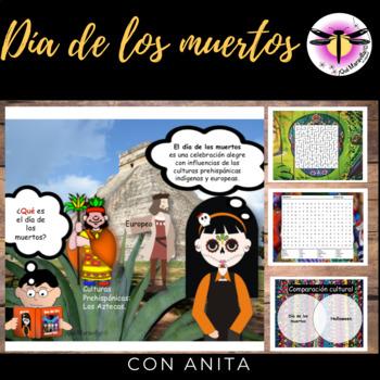 Dia de los muertos - Day of Death : Narrative, activities, games, mini-project