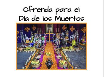Día de los muertos/Day of the Dead Ofrenda Project BUNDLE!